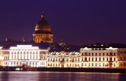 Annunciation γέφυρα, Αγία Πετρούπολη, Ρωσία Στοκ Εικόνες