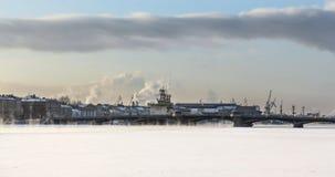 Annunciation γέφυρα Αγία Πετρούπολη Στοκ Εικόνα