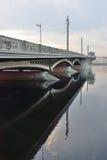 Annunciation γέφυρα στο ηλιοβασίλεμα Στοκ εικόνα με δικαίωμα ελεύθερης χρήσης