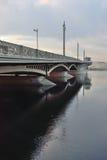 Annunciation γέφυρα στο ηλιοβασίλεμα Στοκ φωτογραφία με δικαίωμα ελεύθερης χρήσης