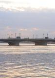 Annunciation γέφυρα στο ηλιοβασίλεμα Στοκ φωτογραφίες με δικαίωμα ελεύθερης χρήσης