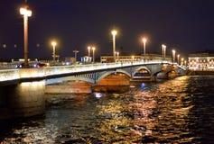 Annunciation γέφυρα τη νύχτα Στοκ Φωτογραφία