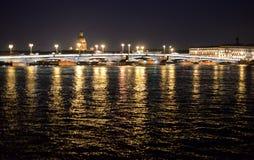 Annunciation γέφυρα τη νύχτα Στοκ Εικόνα