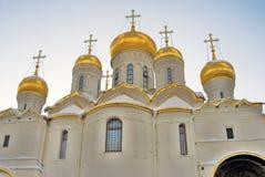 Annunciation εκκλησία στη Μόσχα Κρεμλίνο Περιοχή παγκόσμιων κληρονομιών της ΟΥΝΕΣΚΟ Στοκ Φωτογραφίες
