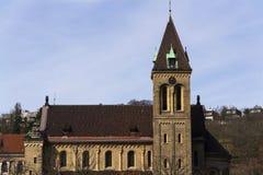 Annunciation εκκλησία Αγίου Gabriel στην Πράγα, Τσεχία Στοκ Φωτογραφίες
