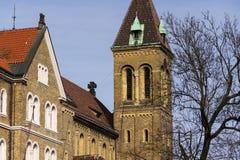 Annunciation εκκλησία Αγίου Gabriel στην Πράγα, Τσεχία Στοκ εικόνα με δικαίωμα ελεύθερης χρήσης