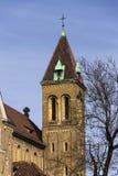 Annunciation εκκλησία Αγίου Gabriel στην Πράγα, Τσεχία Στοκ Εικόνες