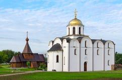 Annunciation εκκλησία και εκκλησία του ιερού πρίγκηπα Αλέξανδρος Nevsky, Στοκ Εικόνα
