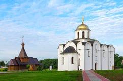 Annunciation εκκλησία και εκκλησία του ιερού πρίγκηπα Αλέξανδρος Nevsky, Στοκ φωτογραφίες με δικαίωμα ελεύθερης χρήσης