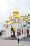 Annunciation εκκλησία Κρεμλίνο Μόσχα Κληρονομιά της ΟΥΝΕΣΚΟ Στοκ εικόνες με δικαίωμα ελεύθερης χρήσης