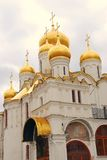 Annunciation εκκλησία Κρεμλίνο Μόσχα Κληρονομιά της ΟΥΝΕΣΚΟ Στοκ εικόνα με δικαίωμα ελεύθερης χρήσης