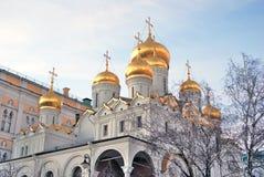 Annunciation εκκλησία Κρεμλίνο Μόσχα Κληρονομιά της ΟΥΝΕΣΚΟ Στοκ φωτογραφία με δικαίωμα ελεύθερης χρήσης