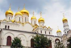 Annunciation εκκλησία Κρεμλίνο Μόσχα Περιοχή παγκόσμιων κληρονομιών της ΟΥΝΕΣΚΟ Στοκ εικόνα με δικαίωμα ελεύθερης χρήσης