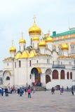 Annunciation εκκλησία Κρεμλίνο Μόσχα Περιοχή παγκόσμιων κληρονομιών της ΟΥΝΕΣΚΟ Στοκ Φωτογραφία