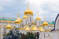 Annunciation εκκλησία Κρεμλίνο Μόσχα Περιοχή παγκόσμιων κληρονομιών της ΟΥΝΕΣΚΟ Στοκ Εικόνες