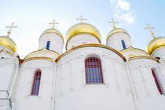 Annunciation εκκλησία. Μόσχα Κρεμλίνο. Στοκ Εικόνες
