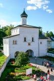 Annunciation εκκλησία πυλών του μοναστηριού λυτρωτών του ST Euthymius, Ρωσία, Σούζνταλ Στοκ εικόνα με δικαίωμα ελεύθερης χρήσης