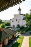 Annunciation εκκλησία πυλών του μοναστηριού λυτρωτών του ST Euthymius, Ρωσία, Σούζνταλ Στοκ εικόνες με δικαίωμα ελεύθερης χρήσης