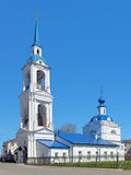 Annunciation εκκλησία σε Kineshma, Ρωσία Στοκ εικόνες με δικαίωμα ελεύθερης χρήσης