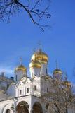 Annunciation εκκλησία στη Μόσχα Κρεμλίνο Η παγκόσμια κληρονομιά της ΟΥΝΕΣΚΟ κάθεται Στοκ Εικόνες
