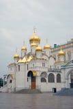 Annunciation εκκλησία στη Μόσχα Κρεμλίνο Η παγκόσμια κληρονομιά της ΟΥΝΕΣΚΟ κάθεται Στοκ Φωτογραφία