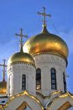 Annunciation εκκλησία στη Μόσχα Κρεμλίνο Η παγκόσμια κληρονομιά της ΟΥΝΕΣΚΟ κάθεται Στοκ φωτογραφίες με δικαίωμα ελεύθερης χρήσης