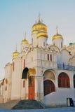 Annunciation εκκλησία στη Μόσχα Κρεμλίνο Η παγκόσμια κληρονομιά της ΟΥΝΕΣΚΟ κάθεται Στοκ Φωτογραφίες