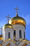Annunciation εκκλησία στη Μόσχα Κρεμλίνο Η παγκόσμια κληρονομιά της ΟΥΝΕΣΚΟ κάθεται Στοκ εικόνα με δικαίωμα ελεύθερης χρήσης