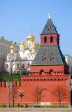 Annunciation εκκλησία στη Μόσχα Κρεμλίνο Περιοχή παγκόσμιων κληρονομιών της ΟΥΝΕΣΚΟ Στοκ εικόνες με δικαίωμα ελεύθερης χρήσης