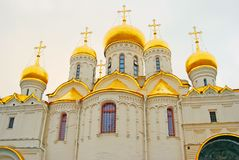 Annunciation εκκλησία της Μόσχας Κρεμλίνο Φωτογραφία χρώματος Στοκ Φωτογραφία