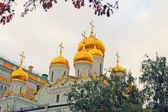 Annunciation εκκλησία της Μόσχας Κρεμλίνο Φωτογραφία χρώματος Στοκ Φωτογραφίες
