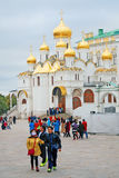 Annunciation εκκλησία της Μόσχας Κρεμλίνο Φωτογραφία χρώματος Στοκ φωτογραφία με δικαίωμα ελεύθερης χρήσης
