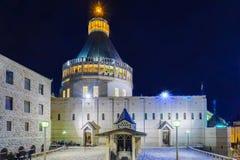 annunciation εκκλησία nazareth Στοκ φωτογραφία με δικαίωμα ελεύθερης χρήσης