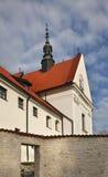 Annunciation εκκλησιών της ευλογημένης Virgin Mary σε Kazimierz Dolny Πολωνία Στοκ Εικόνα