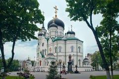 Annunciation καθεδρικός ναός και μνημείο σε Άγιο Mitrofan σε Voronez Στοκ φωτογραφία με δικαίωμα ελεύθερης χρήσης