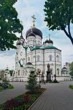 Annunciation καθεδρικός ναός και μνημείο σε Άγιο Mitrofan σε Voronez Στοκ Εικόνες