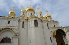 Annunciation καθεδρικός ναός Μόσχα - μέσα στο Κρεμλίνο Στοκ Εικόνες