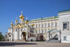 Annunciation καθεδρικός ναός, Μόσχα, Ρωσία Στοκ εικόνα με δικαίωμα ελεύθερης χρήσης