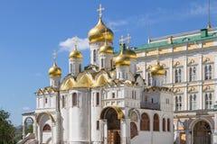 Annunciation καθεδρικός ναός, Μόσχα, Ρωσία Στοκ φωτογραφία με δικαίωμα ελεύθερης χρήσης