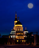 Annunciation καθεδρικός ναός, νυχτερινή ζωή Στοκ εικόνα με δικαίωμα ελεύθερης χρήσης