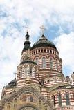 Annunciation καθεδρικός ναός σε Kharkiv, Ουκρανία Στοκ φωτογραφία με δικαίωμα ελεύθερης χρήσης