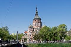 Annunciation καθεδρικός ναός σε Kharkiv, Ουκρανία Στοκ Φωτογραφίες