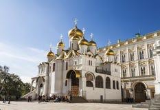 Annunciation καθεδρικός ναός στη Μόσχα Κρεμλίνο, Μόσχα, Ρωσία Στοκ εικόνες με δικαίωμα ελεύθερης χρήσης