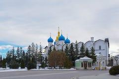 Annunciation καθεδρικός ναός Kazan Κρεμλίνο, Ταταρία, Ρωσία Στοκ Εικόνα