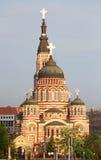 Annunciation καθεδρικός ναός, Kharkiv, Ουκρανία Στοκ εικόνα με δικαίωμα ελεύθερης χρήσης