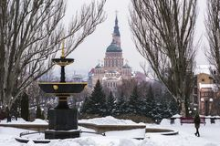 Annunciation καθεδρικός ναός Kharkov Στοκ φωτογραφίες με δικαίωμα ελεύθερης χρήσης