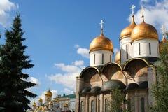 Annunciation καθεδρικός ναός και ο καθεδρικός ναός αρχαγγέλων στη Μόσχα Στοκ Εικόνα