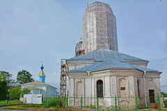Annunciation καθεδρικός ναός και ST Nikolay& x27 εκκλησία του s σε Shlisselburg, Ρωσία Στοκ φωτογραφίες με δικαίωμα ελεύθερης χρήσης