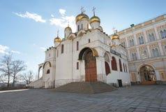 Annunciation καθεδρικός ναός, Μόσχα Κρεμλίνο Στοκ εικόνες με δικαίωμα ελεύθερης χρήσης