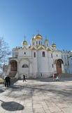 Annunciation καθεδρικός ναός, Μόσχα Κρεμλίνο Στοκ φωτογραφίες με δικαίωμα ελεύθερης χρήσης